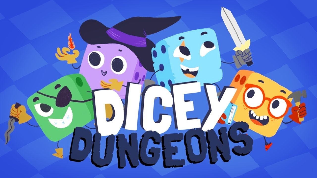 Dicey Dungeons main screen
